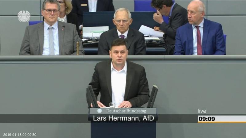 Lars Herrmann (AfD) Aus illegal, machen wir mal schnell legal 18.01.2019