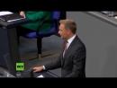 Vom Sturz Merkels bis zu Wahnsinnigen in der Regierung Bundestag streitet über Migrationskrise