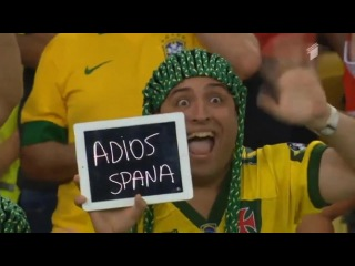 World Cup 2014 - Adios Spana (Chile vs Spain)