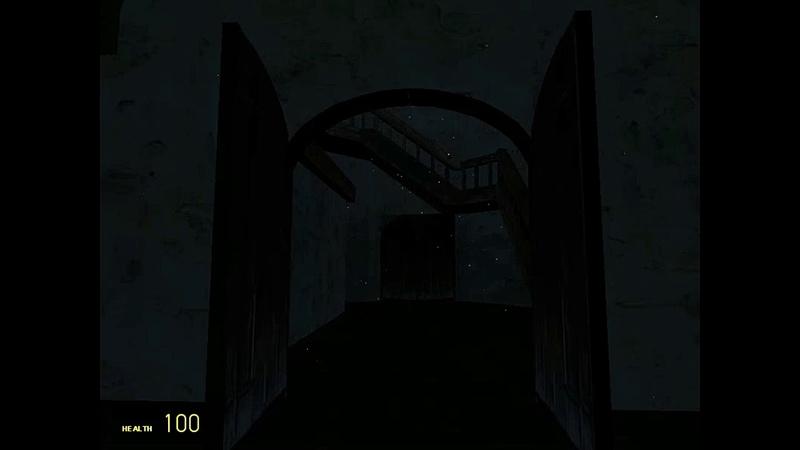 Garrys mod. horror map. The village-Part 2. Лёха злодей