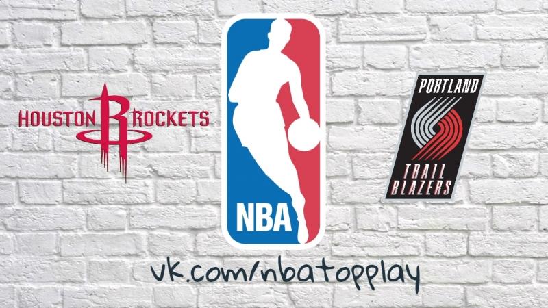 Houston Rockets vs Portland Trail Blazers March 20 2018 2017 18 NBA Season