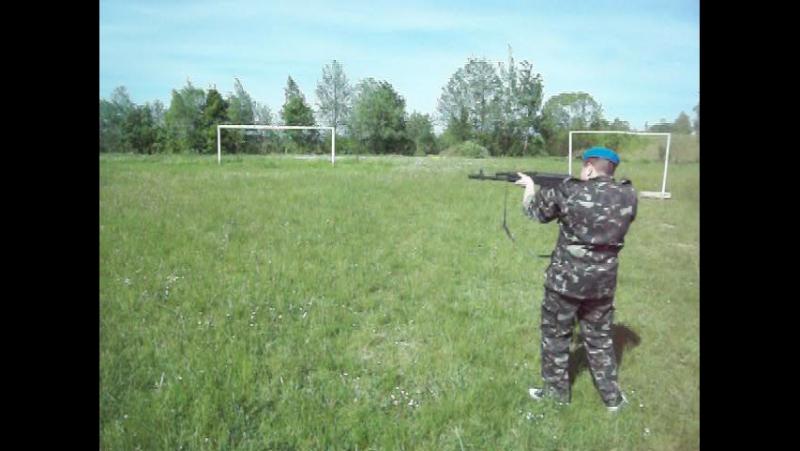 Тренування тактики двійок (рій козаки-десантники)