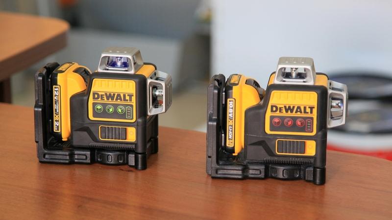 Как настроить лазерный нивелир DeWALT