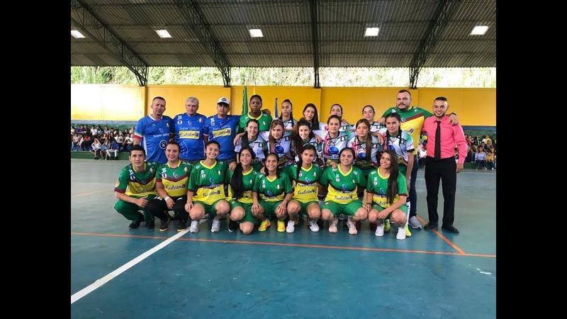 Copa Profesional de Futbol de Salón Femenina Caciques del Quindio Vs Aguilas Nariñenses