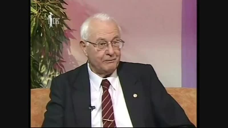 В.А Зуев - д.м.н, профессор. Исследование Фактора старения