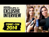 Jessica Alba & Rosario Dawson 'Sin City: A Dame To Kill For' Exclusive Interview: SDCC (2014) HD