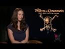 BigMovieMouthOff: Интервью с Каей в рамках промоушена «Пиратов Карибского моря 5»