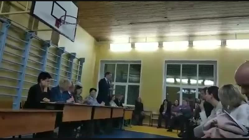 Ответ чиновников о постройке новой школы в Горках Ленинских