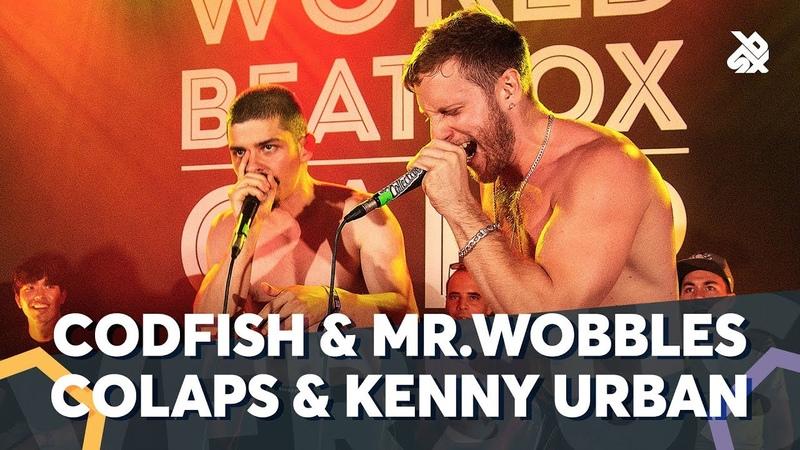 CODFISH MR.WOBBLES VS COLAPS KENNY URBAN | WBC TAG TEAM BATTLE | Semi Final