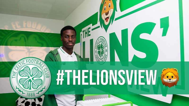 The Lions View Timothy Weah on Celtic Park Sensory Room
