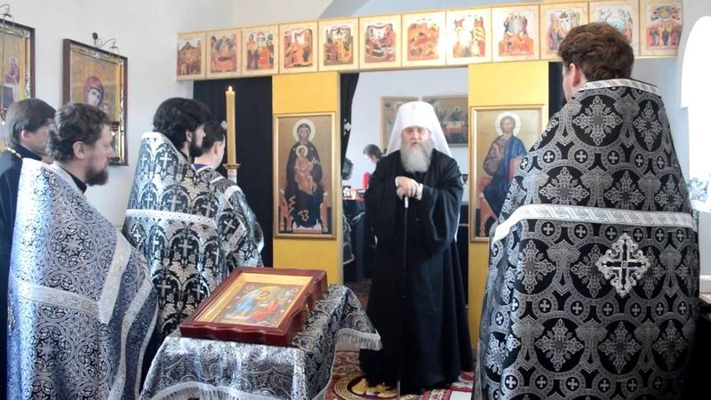 Проповедь Владыки Вениамина Литургия преждеосвященных даров 8 04 2016 г