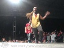 SDK 2011 — House Battle, Nikki Sweden vs JK Sanchez Czech, Winner — Street Dance Kemp