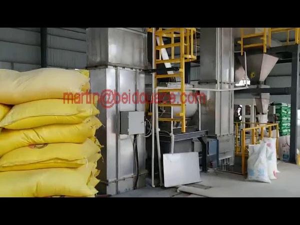 Floor-batching Water Soluble Fertilizer Line