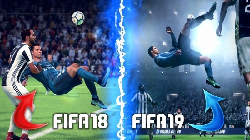 FIFA19 VC FIFA18 | Сравнение двух игр | Какая игра лучше? | Самый правдивый отзыв