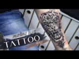 Tattoo story snarling tiger