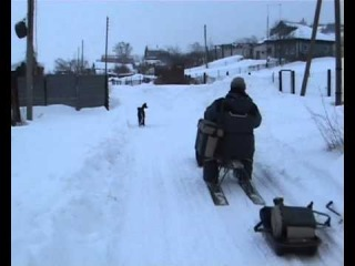САМ Снегоходная приставка 1