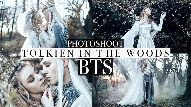 Tolkien in the Woods Photoshoot! | Bella Kotak