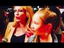 Юлия Началова с дочерью на премии «Дай пять!»