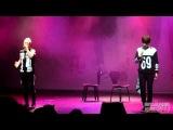 [FANCAM]140315 The 1st LOVE Story☆BaekHo+Minhyun☆W