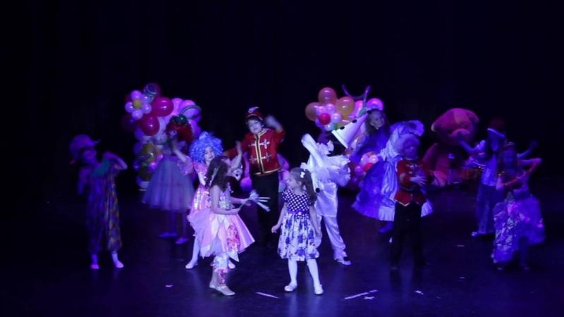Детская Академия Театра и Кино. Песня Сон шутник Шоу-группа Маленький рай