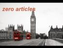 Zero articles