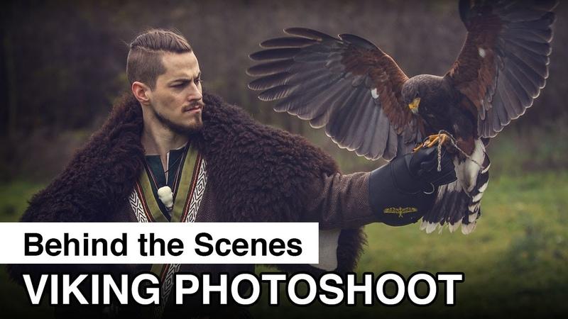 Viking Photoshoot Behind The Scenes