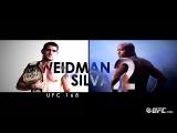 Countdown to UFC 168: Weidman vs. Silva II трансляция в СПб в баре!!!