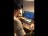 Olly James &amp Kerafix working on some music (part 2)