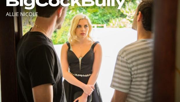 NaughtyAmerica - Allie Nicole takes on two big cock bullies