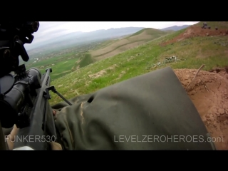 MARCOC Snipers Firefight With Taliban