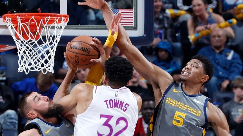 Memphis Grizzlies vs Minnesota Timberwolves Team Highlights March 23 2019 NBA Season 2018 19