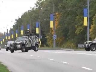 Милиция будет патрулировать г. Харьков на новых бронированных авто.(КрАЗ Кугуар).