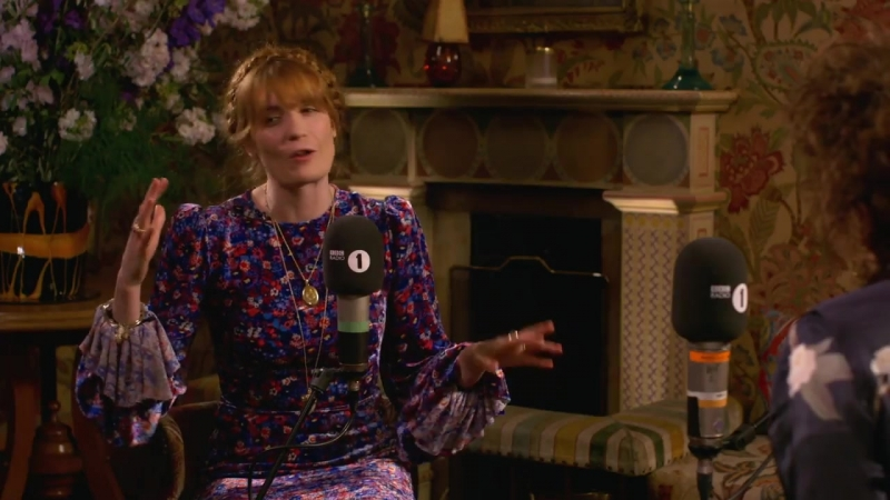 Florence Welch on writing the new album High As Hope — Interview with BBC Radio 1's Annie Mac (Part 1/3)
