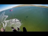 no Pain no Gain - kitesurfing backroll megaloop and unhook freestyle