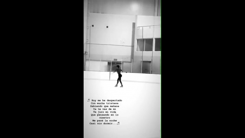 Donovan instastory update - - The lyrics are from his new FS - Ya lo sé que tú te vas - and