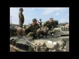 Погрузка танков на эшелоны. Учения
