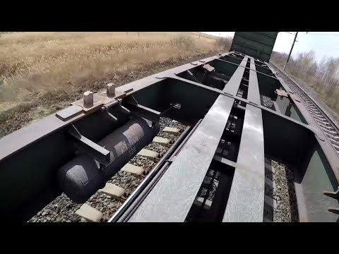 На грузовых поездах по Южному Уралу до Омска