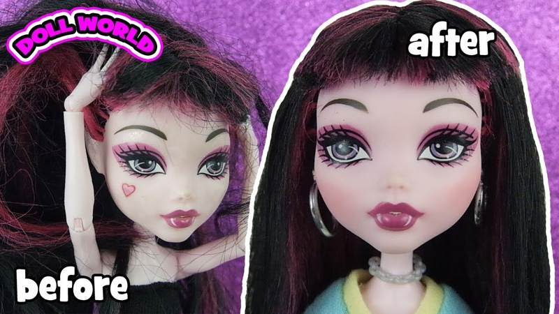 Monster High Draculaura Doll Makeover