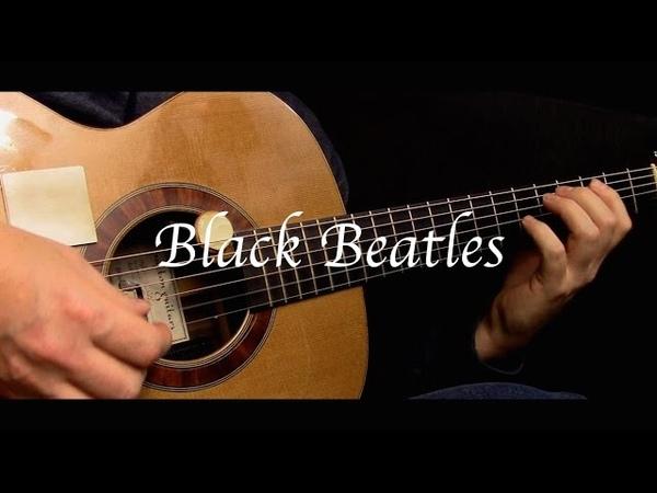 Rae Sremmurd - Black Beatles ft. Gucci Mane - Fingerstyle Guitar