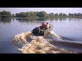 Пробный выезд , р.Припять ; Лодка Ока-4 и Mercury30