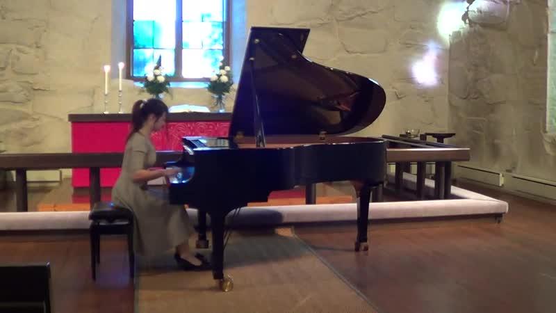 Р.Шуман - Арабеска C-dur op.18 Наталия Половко