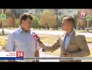 Какая сейчас обстановка в Армянске? Прямое включение специального корреспондента телеканала «Крым 24» Артёма Артёменко