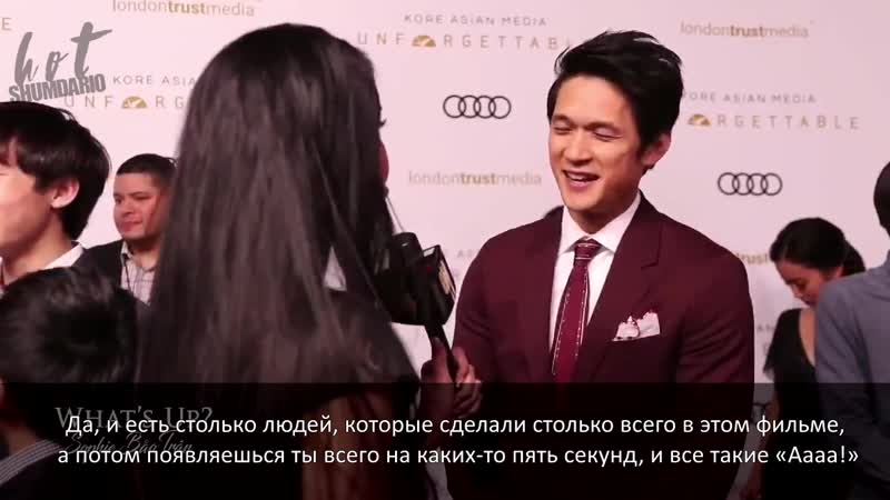 Interview with @HarryShumJr from the 2018 Unforgettable Gala RUS SUB