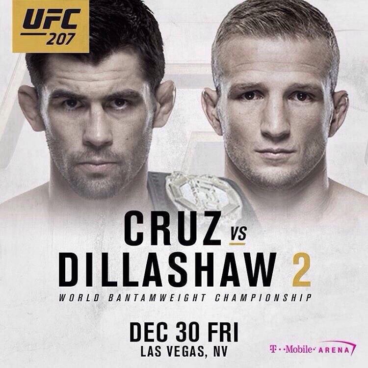 Cruz Vs Dillashaw 2 Ufc 207 Sherdog Forums Ufc Mma Boxing Discussion