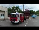 Занятия с пожарным расчетом в Московском учебном центре ФПС МЧС России