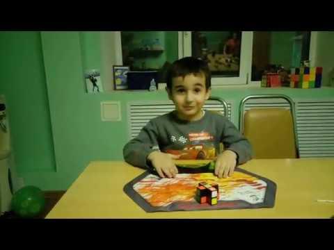 Агасарян Лев в 4 года собирает супер флоппи