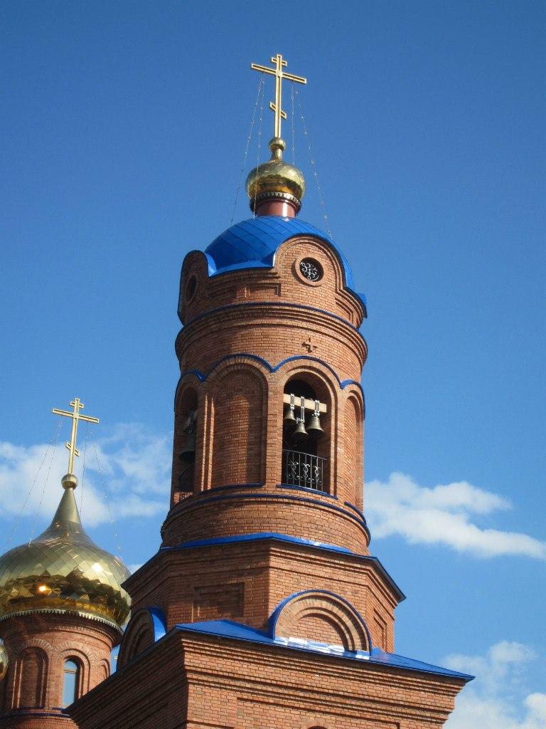 Колокольня полетаевской церкви (03.07.2014)