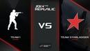 Team1 vs Team StarLadder, map 1 Train, Join the Republic Finals