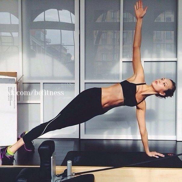 Йога: 5 простых упражнений для пресса (1 фото)