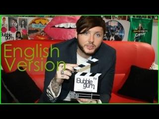 James Arthur - Interview at Bubble Gum TV - English Version - Future, Free Time, Fans